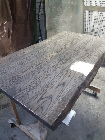 Ash with Grey Slate Stain